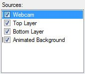 Adding Webcam as Global Source