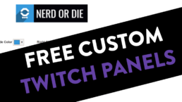 Custom Twitch Panels